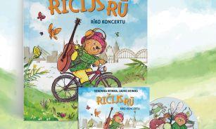 """Reiniku ģimene rada dziesmu albumu un grāmatu bērniem """"Ričijs Rū rīko koncertu"""""""