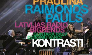 Izdots jauns Kristīnes Prauliņas un Latvijas Radio bigbenda CD ar jaunām Paula un Rača dziesmām!